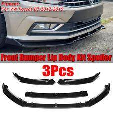 Pour VW Passat B7 3 C 10-14 pare-chocs avant spoiler R Ligne Lip Cantonnière Chin jupe R36