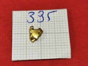 Goldnugget 0,310g Alaska Yukon Goldnuggets #395 Goldbarren Münze Coin