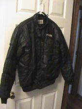 Vintage Consolidated Freightways Safety Award Jacket Large Black (RARE)