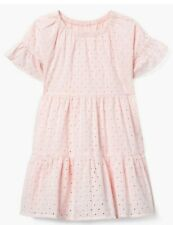 NWT Gymboree Pink Eyelet Spring Summer Easter Dressy Dress Girls size S 5 6