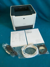 HP LaserJet P2015dn Duplex Network Printer with 96% OEM Toner and  Cables CB368A