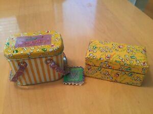 Muffy Vanderbear Sewing Lesson Thimble Set & Tin Sewing Box