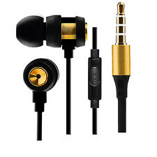 ULTIMATE EARPHONES Gold Binaural,Stereo,Super Bass,Woofer, Best Earphone I Doser