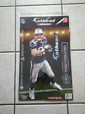 """New England Patriots Wes Welker  7.5""""x16.5"""" Fatheads Wall Decal"""