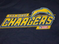 NFL TEAM Apparel San Diego CHARGERS T-Shirt NEW.. LARGE
