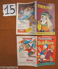 Lotto 2 Albi della Rosa 1960 1962 Walt Disney n 306 378 paperino topolino vendo