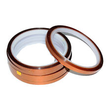 5pcs Ving 8mm X 100ft 3d Sublimation Kapton Tape Heat Resistance Proof Tape
