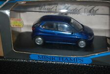 Minichamps 1/43 BMW E1 Metalic Blue Diecast Car