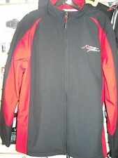 AFRICA TWIN SOFT SHELL MENS JACKET-BLK/RED
