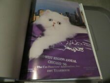 1997 The Cat Fanciers' Association Annual Yearbook 715 Pages of Cats and more