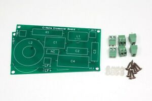 Pair of Crossover PCBsfor theC-Note / C-SharpDIY speakerkit - PCB Board Kit