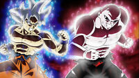 Anime Dragon Ball Super Goku VS Jiren O Wallpaper Poster24 x 14 inches