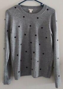 J. Crew Factory Polka Dot Sweater