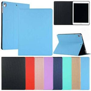 Thin Leather Smart Case Auto Sleep Wake Folio Book Stand Cover For Apple iPad