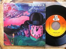 "BIRTH CONTROL ""GAMMA RAY PART 1+2"" PSYCH ROCK 1975 PS GERMAN IMPORT 7"" 45RPM"