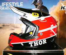 Thor verge pro gp Cross todoterreno quad casco enduro honda rojo Cr-f ktm airoh nuevo L