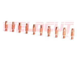 10 x Stromdüse M6x28x0.8mm Nr. 140.0051 für Schweißbrenner MB25 MB36 Nachbau
