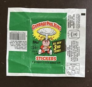 Garbage Pail Kids 3rd Series Trading Card Wax Wrapper Topps 1985