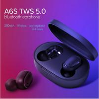 A6S Bluetooth 5.0 Headset Wireless Earphone Earbud Stereo Headphone In-Ear Mini