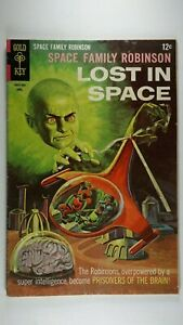 SPACE FAMILY ROBINSON #27 LOST IN SPACE VG (4.0) GOLD KEY