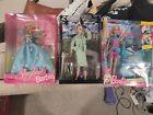 barbie doll lot new in box