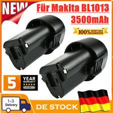 3.5AH 10.8V Lithium Ionen Akku für Makita BL1013 BL1014 194551-4 DF030D DF330D
