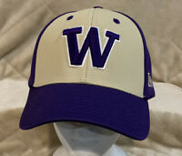 Washington Huskies Adult OSFA Strapback Hat Cap Captivating Headwear NCAA UW