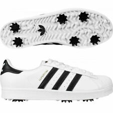 ADIDAS MEN'S SUPERSTAR GOLF SHOES SZ:11.5 M WHITE 2020 SPECIAL LIMITED ED. 20355