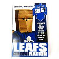 Leafs Abomination Book Toronto Maple Leafs Feschuk Grange NHL 2009 Soft Cover
