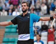 Autographed Benoit Paire ATP Tennis 8x10 Photo #2