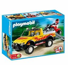 Playmobil 4228 Quad Bike And Pick-Up Truck Child Toy - Compatible with 4856 RC