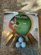 Ping Pong Brand - Table Tennis 4 Player Set
