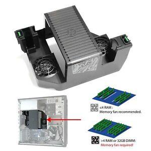 HP Z440 Workstation ram Cooler Memory Cooling Solution Speicher-Kühlungs-Lösung