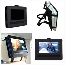 9 inch Swivel & Flip Style DVD Player Nylon Headrest Mount Bag Adjustable Strap