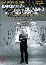 Investigacion sobre un ciudadano libre de toda sospecha (DVD)