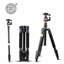 QZSD Q555 Portable Aluminum Digital Camera Tripod Monopod Stand With Ball Head