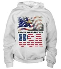 Kids American pride Patriotic Hoodie sweatshirt Small ***NEW***