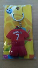 Portugal Ronaldo Soccer Key Chain Home Jersey #7 - Red