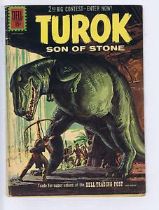 Turok Son of Stone #25 Dell Pub 1961