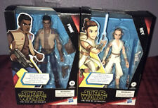 2X Star Wars Galaxy of Adventures 5-Inch Action Figure - Rey AND Finn - New