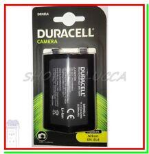 Batteria Ricaricabile DURACELL DRNEL4 = Nikon EN-EL4 x D2H D2X D3 D3S D3X F6