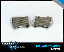 2014 HONDA CRF250R LEFT RIGHT RADIATOR COOLING CELL CRF 250 R 14 15 H49