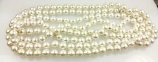 """60"""" 8mm Imitation Pearl Necklace"""