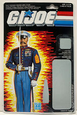 GI Joe Gung-Ho V2 1987 Full Canadian Variant File Card Only ARAH Cobra Gung Ho