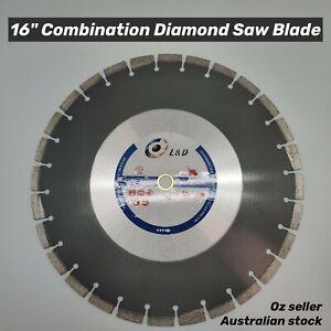 16inch Premium Laser Welded Diamond saw blade For Green concrete and Asphalt