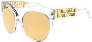 Occhiali da Sole Linda Farrow 388 YELLOW GOLD/GOLD 59/19/138 donna