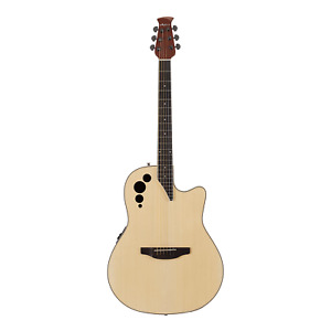 Ovation Applause Elite Acoustic / Electric Guitar - Natural Finish