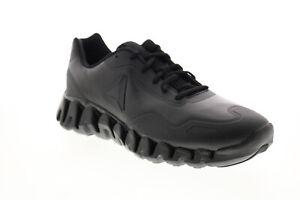 Reebok Zig Pulse Se DV5220 Mens Black Synthetic Athletic Running Shoes
