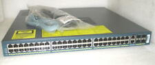 Cisco WS-C4948-S Layer 3 Switch Dual DC Power 48 Port GE + 4 SFP