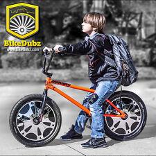 BikeDubz Mayhem - 20 Inch Disc Wheel Covers For BMX Bicycle